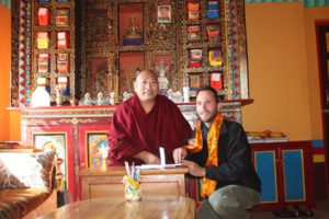 His Holiness, the 34rd Menri Trizin