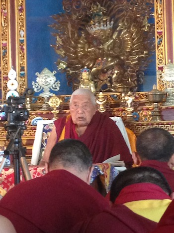 Summer retreat with practice and teaching on Dzogchen