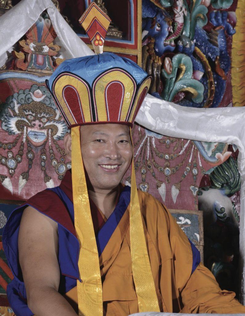 Atri Dzogchen Teaching with HH 34th Menri Trizin Rinpoche